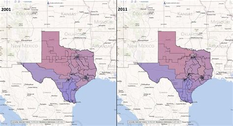 texas district maps congressional districts texas map images