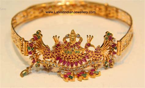 Baju Bandh Of Gold gold baju bandh design