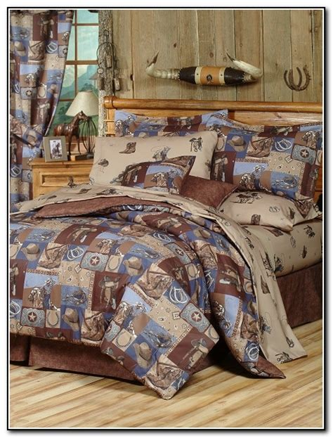 Cheap Western Bedding Sets Western Bedding Sets King Prairie Flower Quilt Bedding Collection Western Rustic Chocolate
