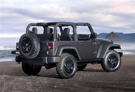 Jeep Specials 2014 Jeep Wrangler Willys Special Edition Jeepfan