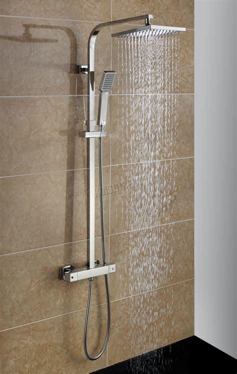 foxhunter bathroom mixer shower set square