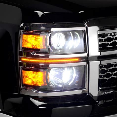 Putco 174 Chevy Silverado 2014 Led Dayliners G3 Switchback Led Light Bulbs For Trucks