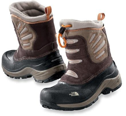 The North Face Snow Plough Pull on Winter Boots   Boys