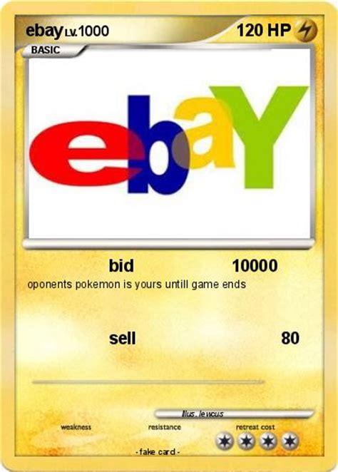 cards ebay pok 233 mon ebay 11 11 bid 10000 my card
