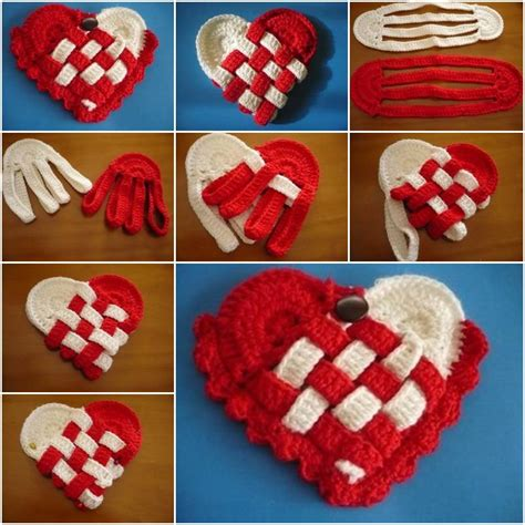 do it yourself pattern making how to make simple crochet heart step by step diy tutorial