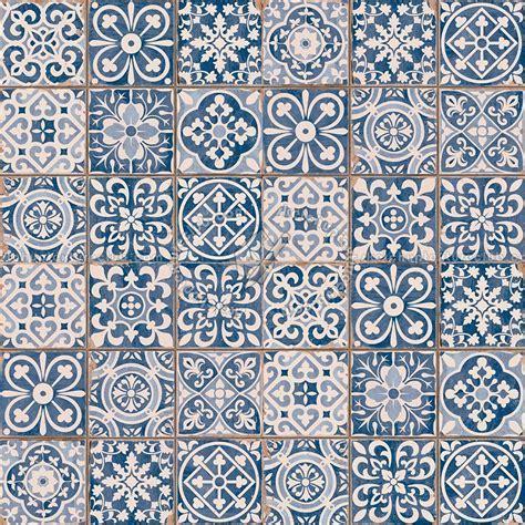 Patchwork tile texture seamless 16601