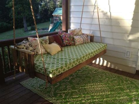 diy swing bed easy diy pallet swing ideas pallets designs
