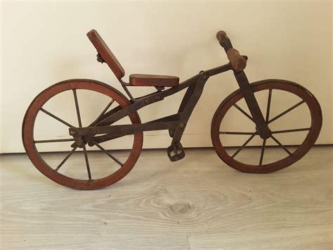 Handmade Bike Wheels - maker unknown antique handmade metal bike with wooden