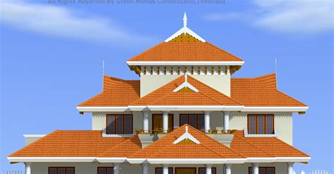 kerala home design thiruvalla green homes traditional kerala style house design 4000 sq