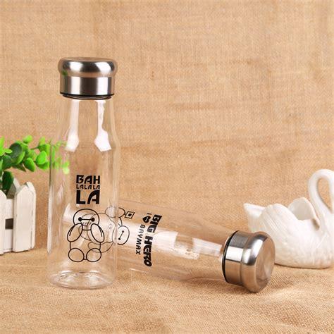 botol minum plastik tranparan 500ml random printing sm 8455 transparent jakartanotebook
