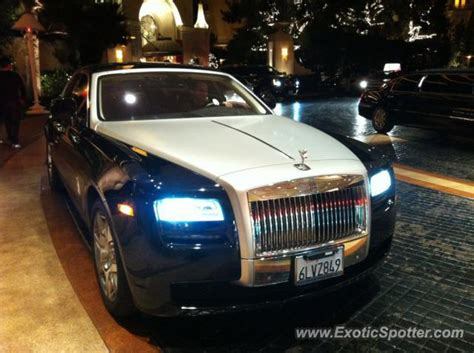 rolls royce ghost spotted in las vegas nevada on 02 06 2011