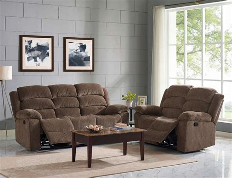 living room furniture austin austin chocolate reclining sofa and loveseat