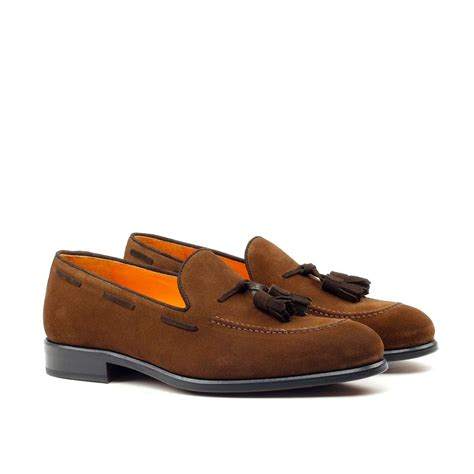 brown suede loafers manor of light brown suede tassel loafers