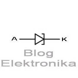 simbol diode tunnel pengenalan diode elektronika
