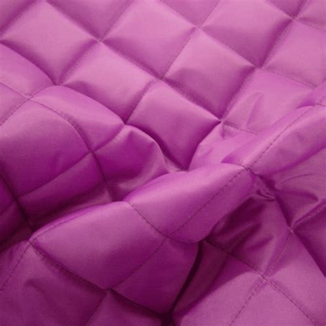 Quilted Fabric Uk by Quilted 4oz Waterproof Fabric Cerise Fabric