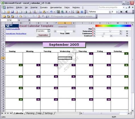 Calendar Xls Excel Calendar Template