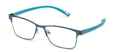 new quay reading glasses in blue gunmetal black 1 00