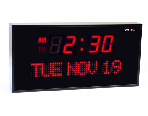 oversized led clock view larger