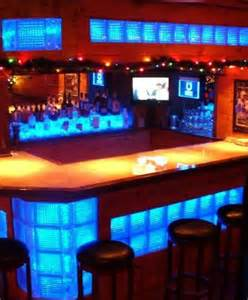 Home Bars Basement by Home Bar Led Glass Blocks Home Bars Pinterest
