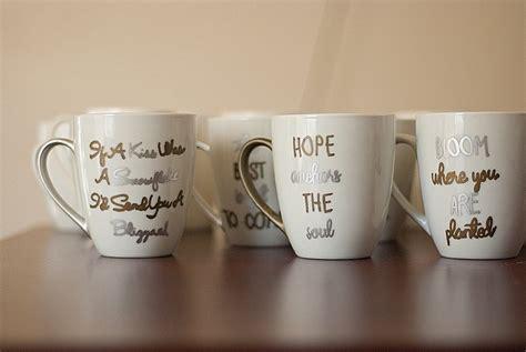 Gettin Crafty Diy Sharpie Mugs Stacey Dinch Photography