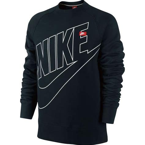 Sweater Logo Nike Keren nike ace fleece logo crew neck sweatshirt crew neck jumper sweater ebay