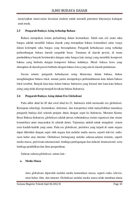 Ilmu Budaya Dasar By Habib Mustopo tugas makalah ilmu budaya dasar