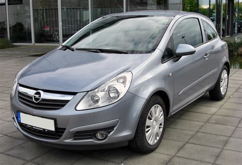 What Is Opel Opel Corsa D Wikiwand
