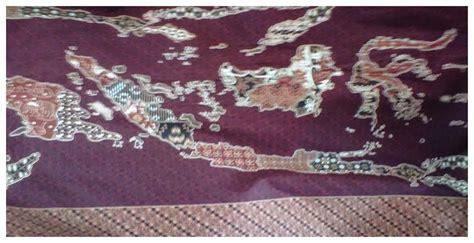 Motif Batik Peta Indonesia bebatikan kain batik motif peta indonesia