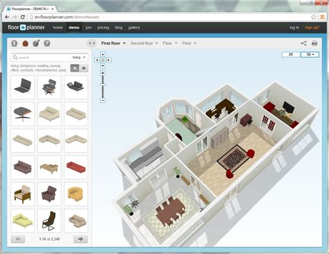 floorplanner in 3d klaas nienhuis