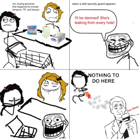 Troll Meme Comics - rage comics troll security guard keep on trollin