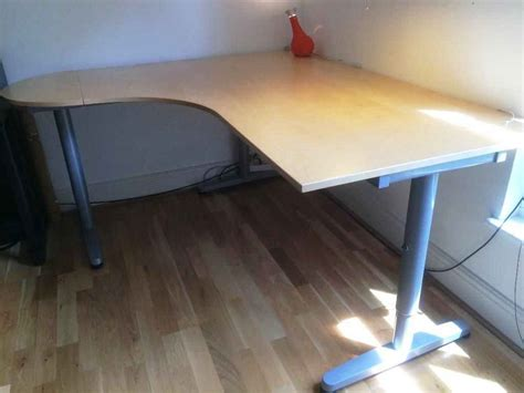 Galant Corner Desk Dimensions Marvelous Ikea Corner Desk Uncategorized Computer Desks And Arttogallery Galant From Company