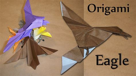 How To Make Paper Eagle - origami eagle