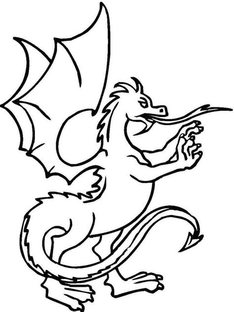 fabulous great dragons coloring pages download and print