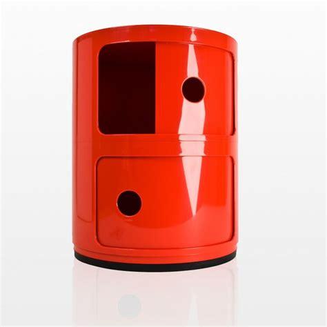 Beistelltisch Klassiker 908 by Kartell Componibili 2 Container Goodform Ch
