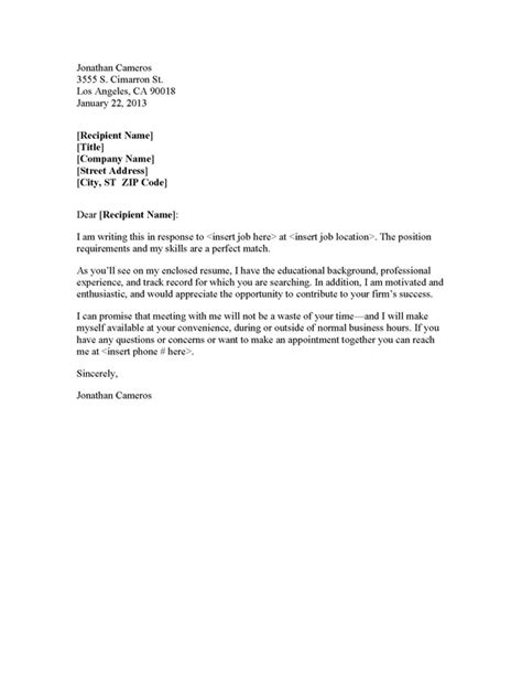 portfolio cover letter exle what is a cover letter in a portfolio covering letter