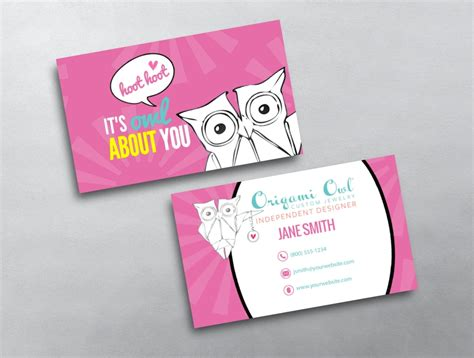 Origami Owl Template - origami owl business card 18