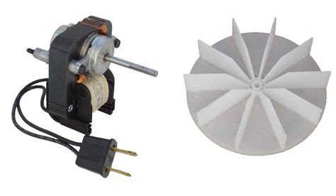 Bathroom Fan Replacement Blade Universal Bathroom Fan Replacement Electric Motor Kit