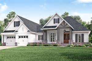 Farmhouse Plans Craftsman Style House Plan 3 Beds 2 Baths 2073 Sq Ft