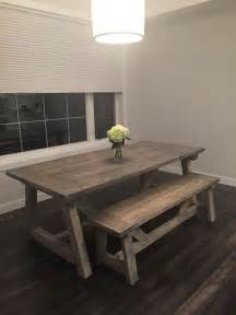 Diy Rustic Wood Dining Table Best 25 Rustic Dining Tables Ideas On Rustic Dining Room Tables Dining Room Table