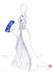 Simple fashion design sketches of dresses 2015 2016 fashion trends