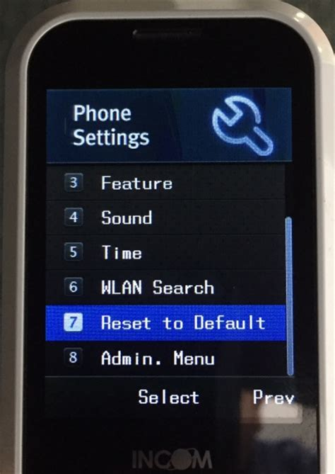 wifi needs resetting factory reset unidata wifi phone abp tech