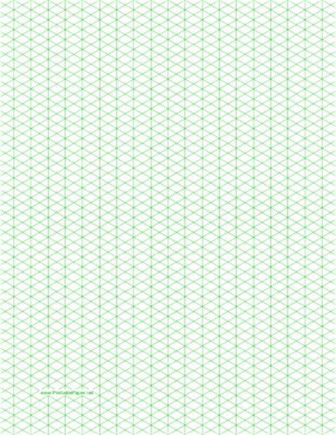 isometric paper template isometric graph paper template