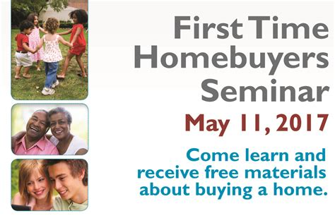 may 11 2017 1st time home buying seminar