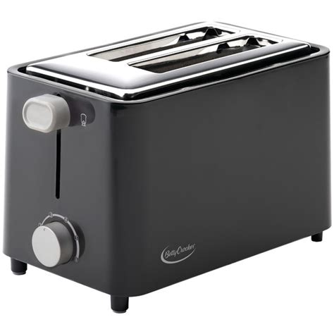Betty Crocker Toaster betty crocker bc 2605cb 2 slice toaster black