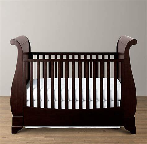 Hardware For Cribs by Marlowe Sleigh Crib Cribs Restoration Hardware Baby