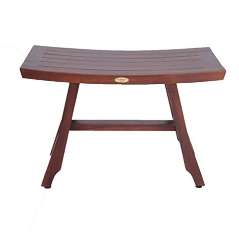 extended shower bench solid teak 28 quot teak shower bench satori asia style
