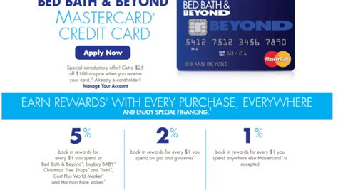 new bath credit bed bath beyond launches new comenity credit card doctor of credit