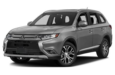 mitsubishi outlander 2016 black 2016 mitsubishi outlander price photos reviews features
