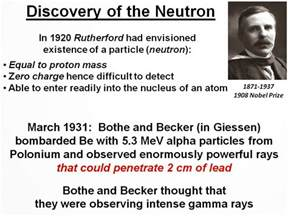 Who Discovered Protons And Neutrons Ektalks The Curie Family A Remarkable Story Part 2
