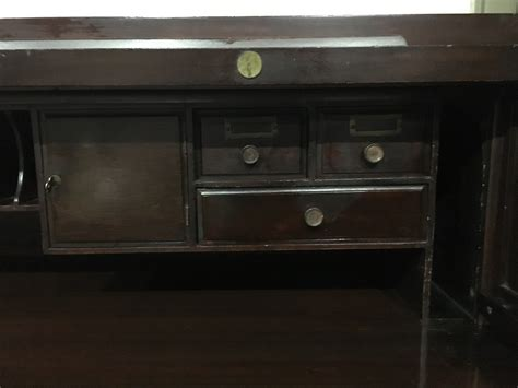 antique roll top desk for sale vintage mahogany roll top desk for sale antiques com